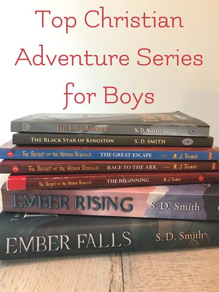 top Christian adventure series for boys