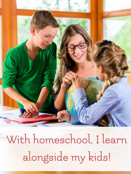 homeschool moms learn too