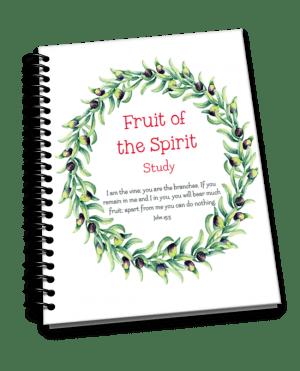 scripture journal fruit of the spirit