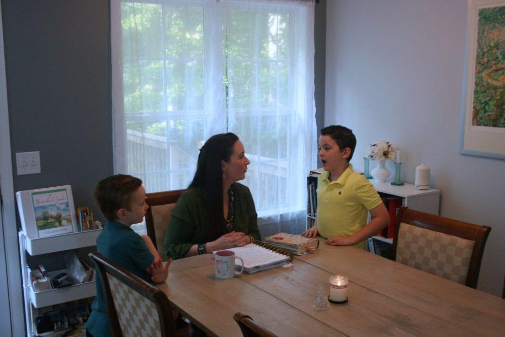 morning time homeschool Charlotte Mason Morning Time Plans