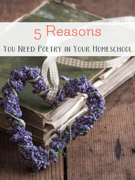 teach poetry for homeschool