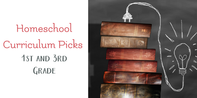 Our Homeschool Curriculum Picks for 1st and 3rd Grades
