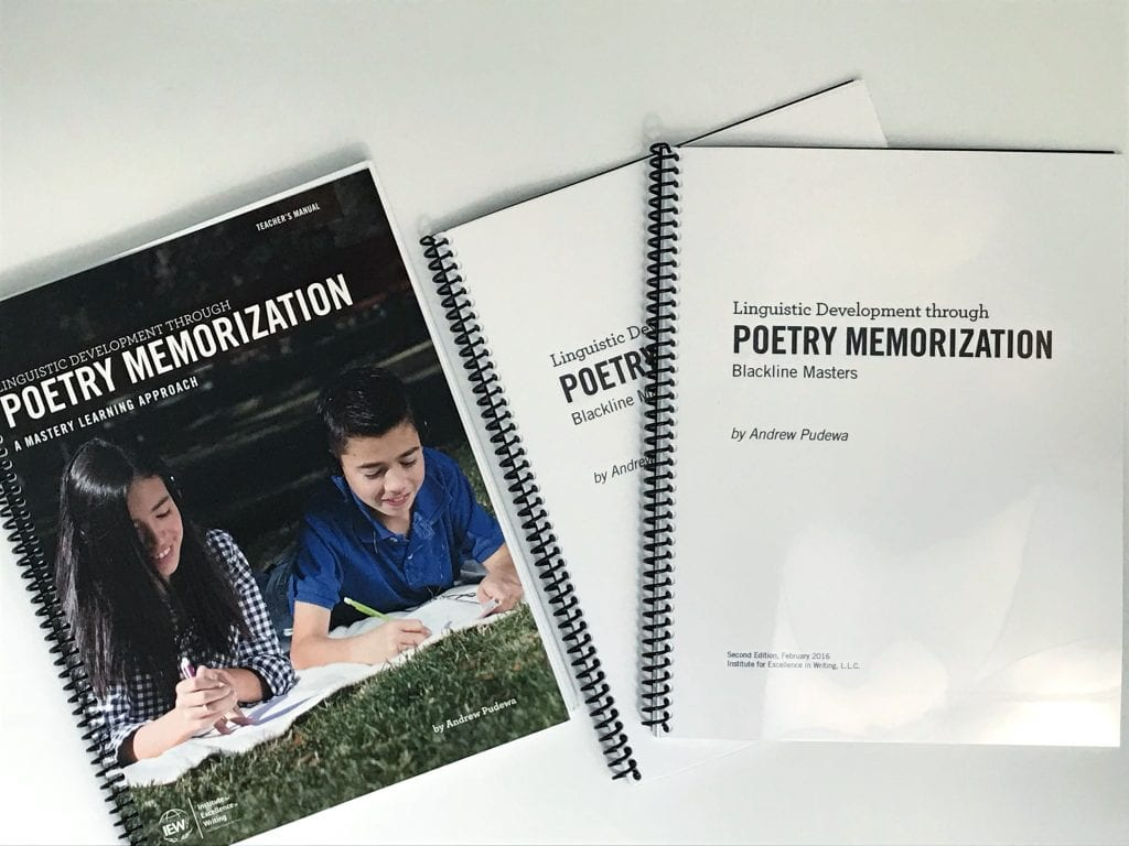 IEW poetry for homeschool curriculum review