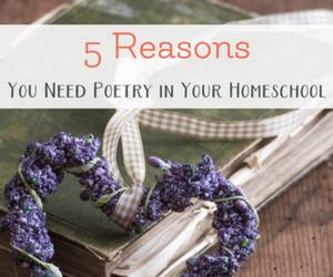 poetry for homeschool