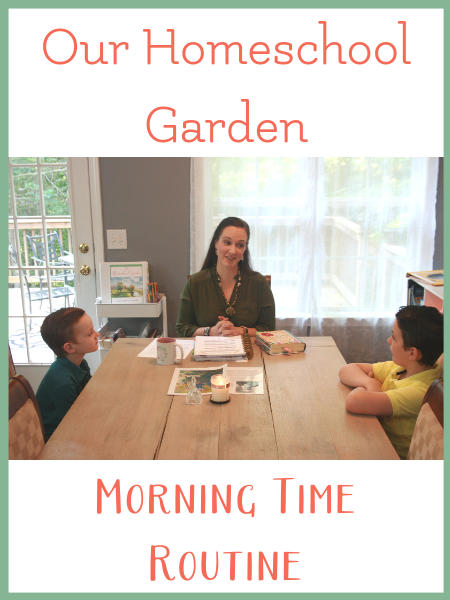 homeschool morning time schedule