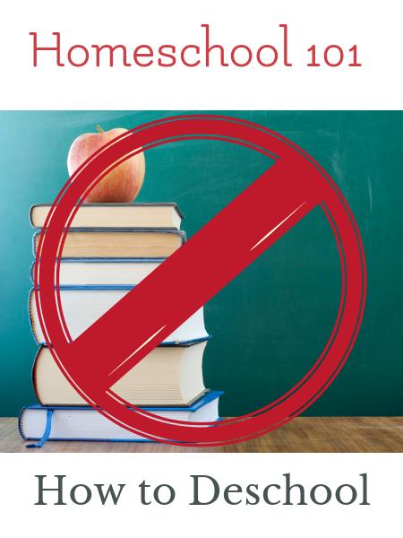 how to deschooling before homeschooling