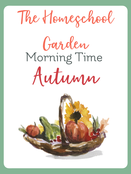 autumn morning time plans