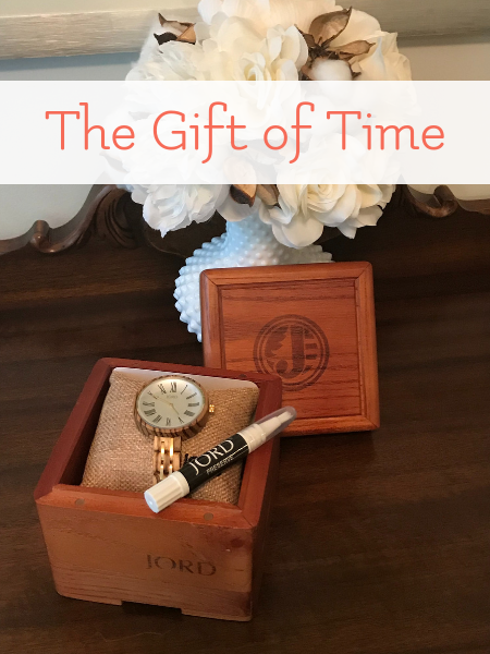 wooden watches make great gifts