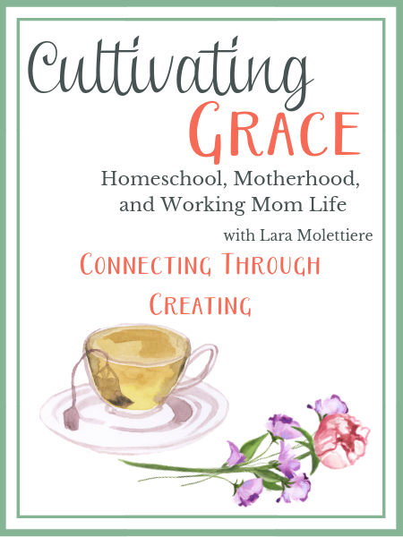 connecting through creating with your children