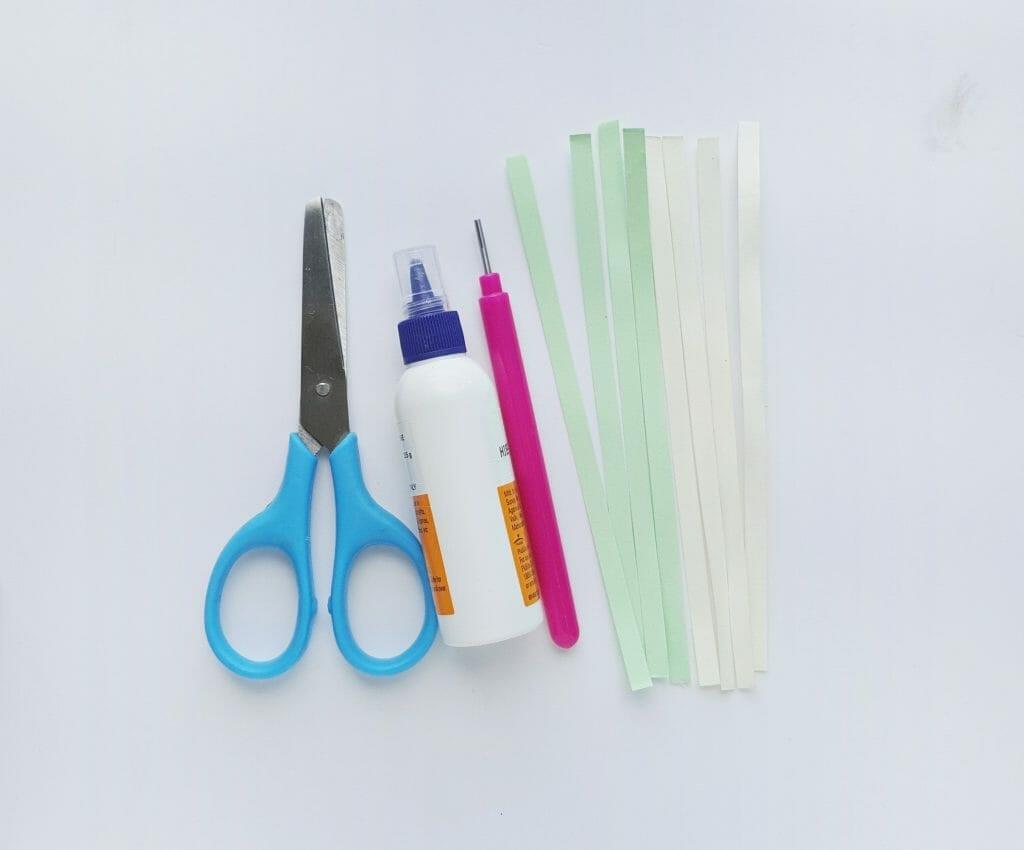 Paper handicraft for children