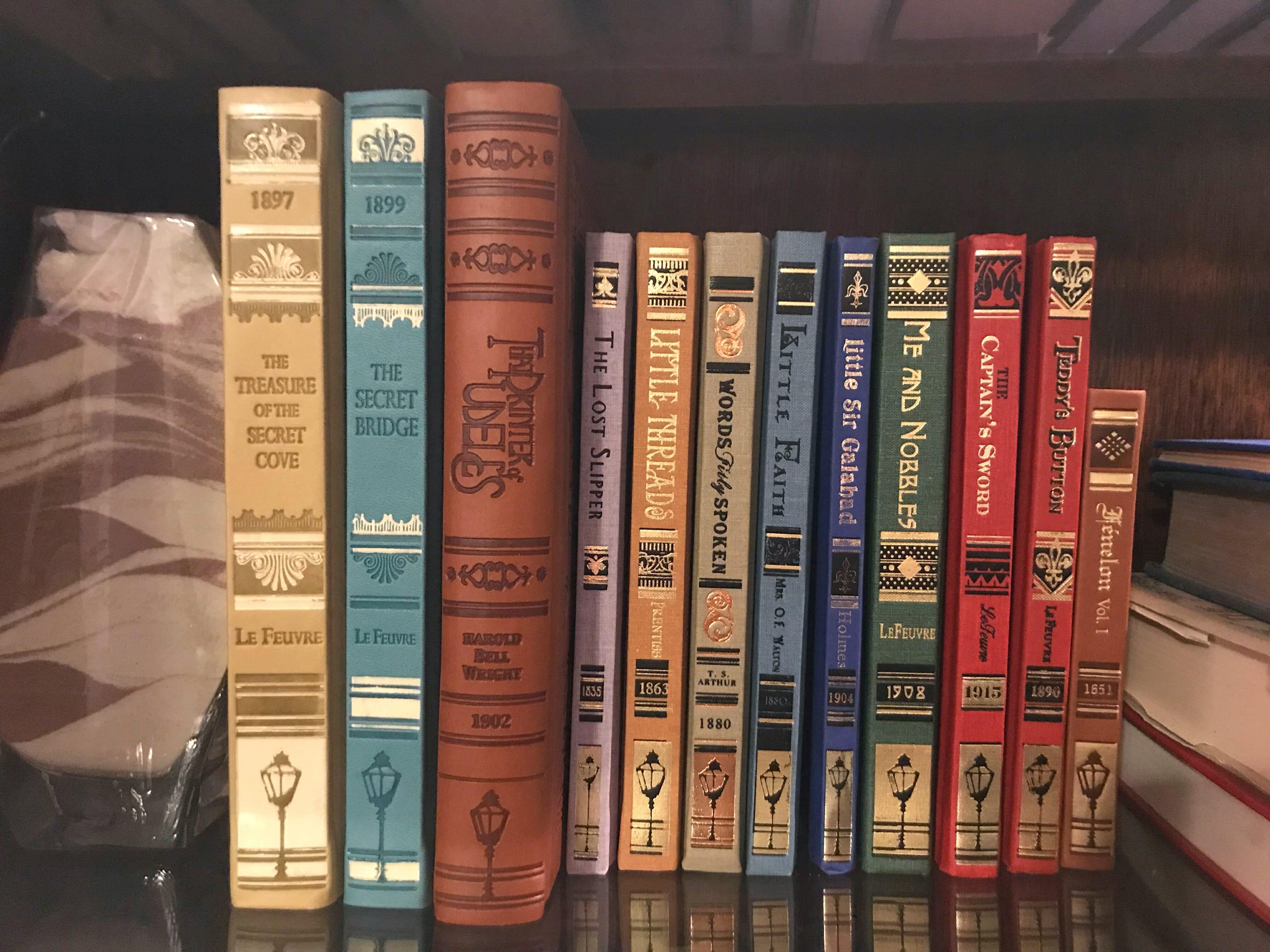 Lamplighter rare books for christian families