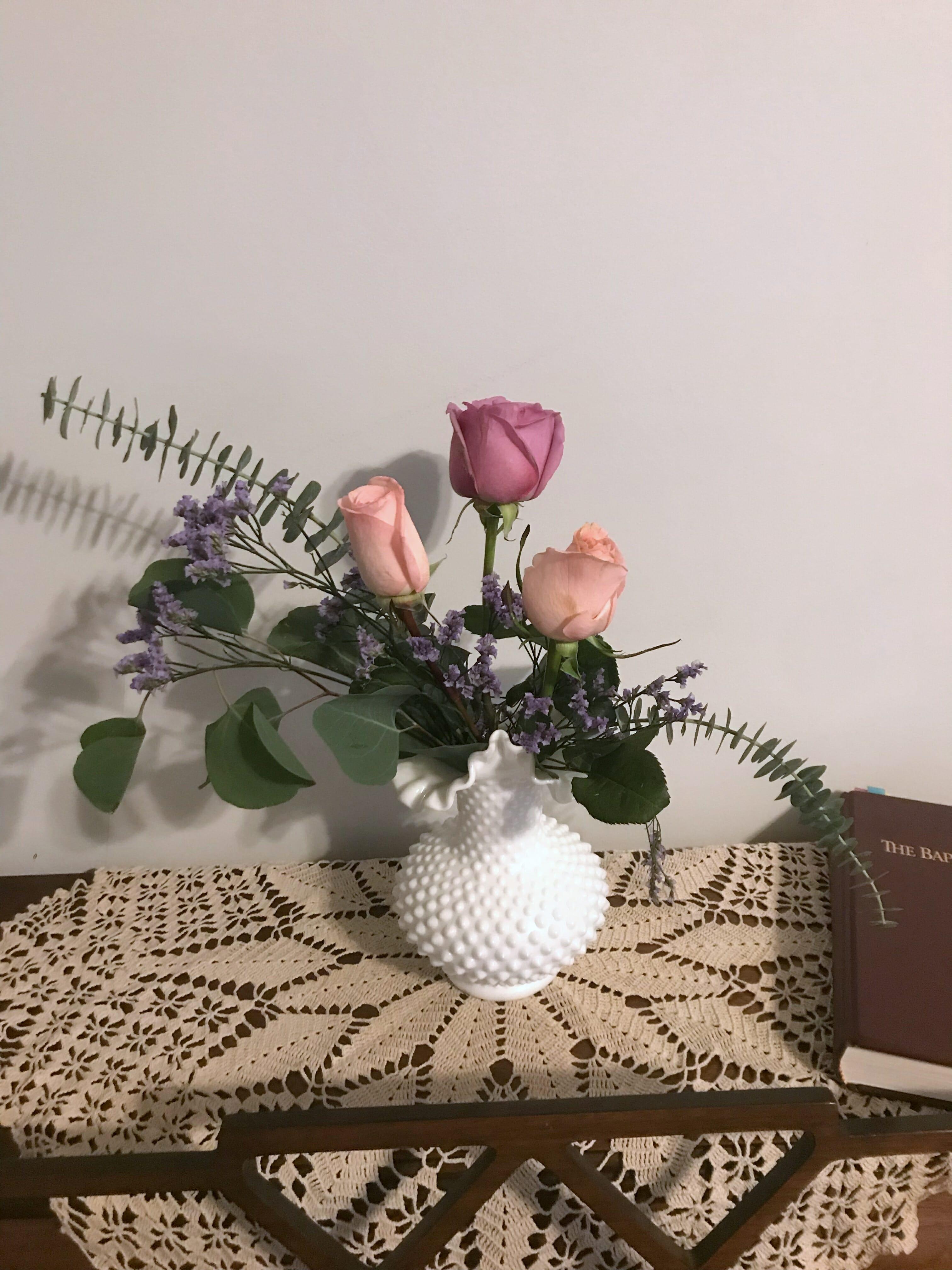 the bouqs review floral arrangement