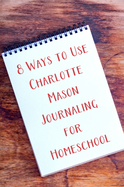 how to use charlotte mason notebooks for homeschool