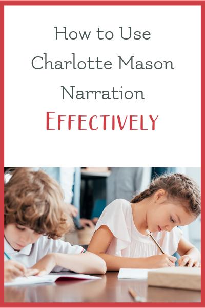 narration tips charlotte mason