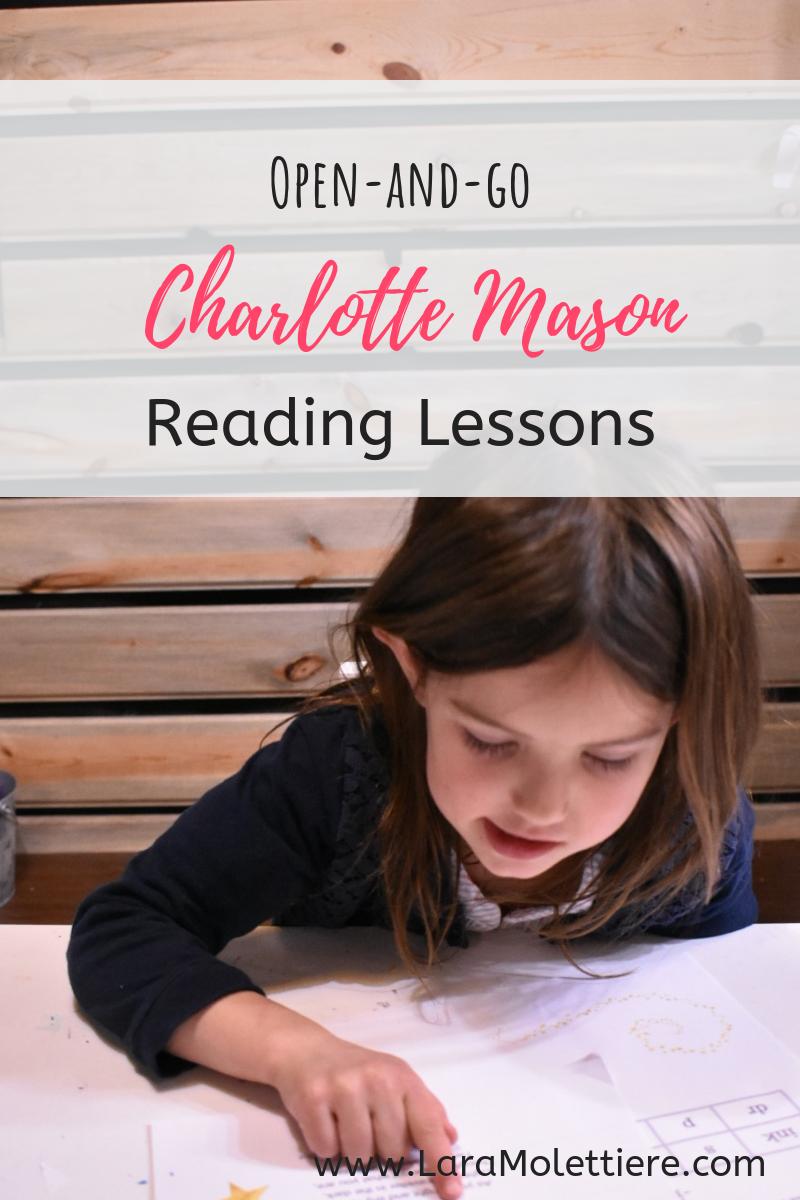 charlotte mason reading lessons made easy