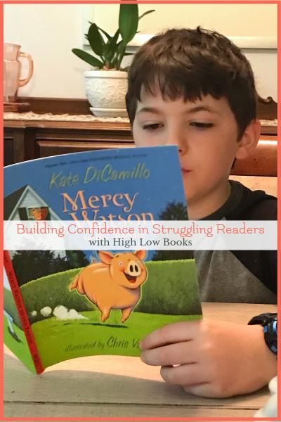 mercy watson high low readers