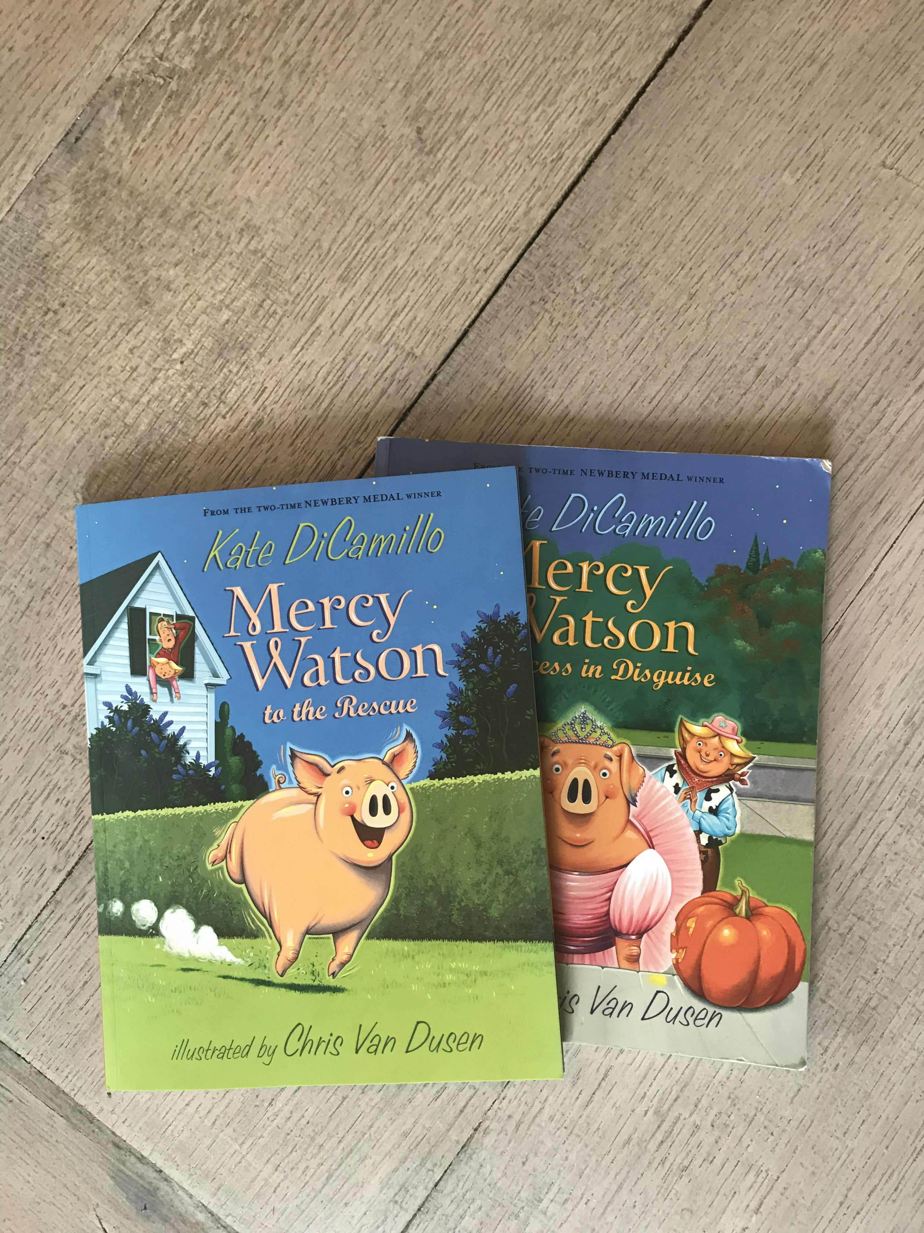 mercy watson ar reading level