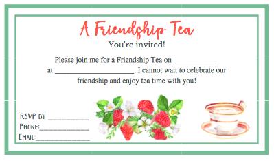 charlotte mason mother culture homeschool moms friendships tea invitation