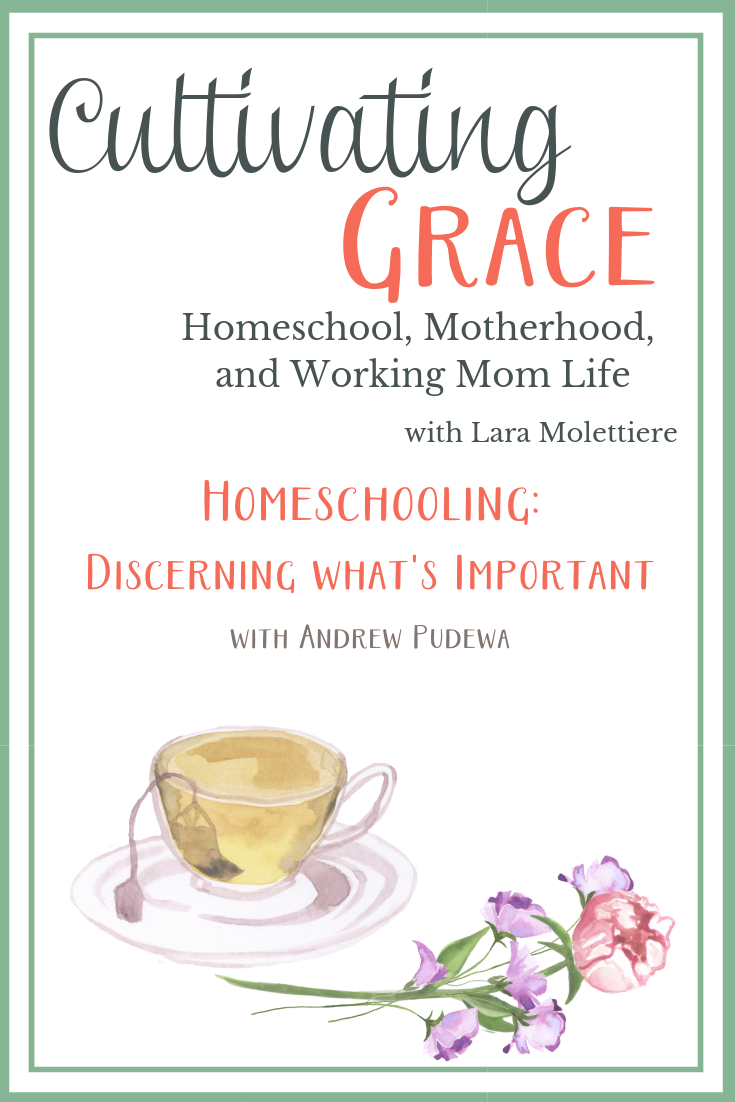 figuring out what's important when homeschooling