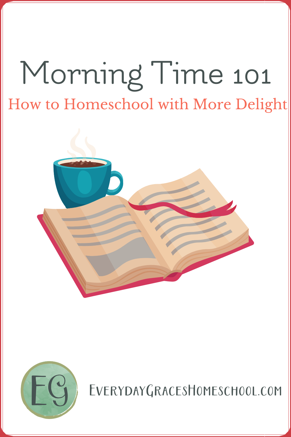 morning time planning pages for homeschool
