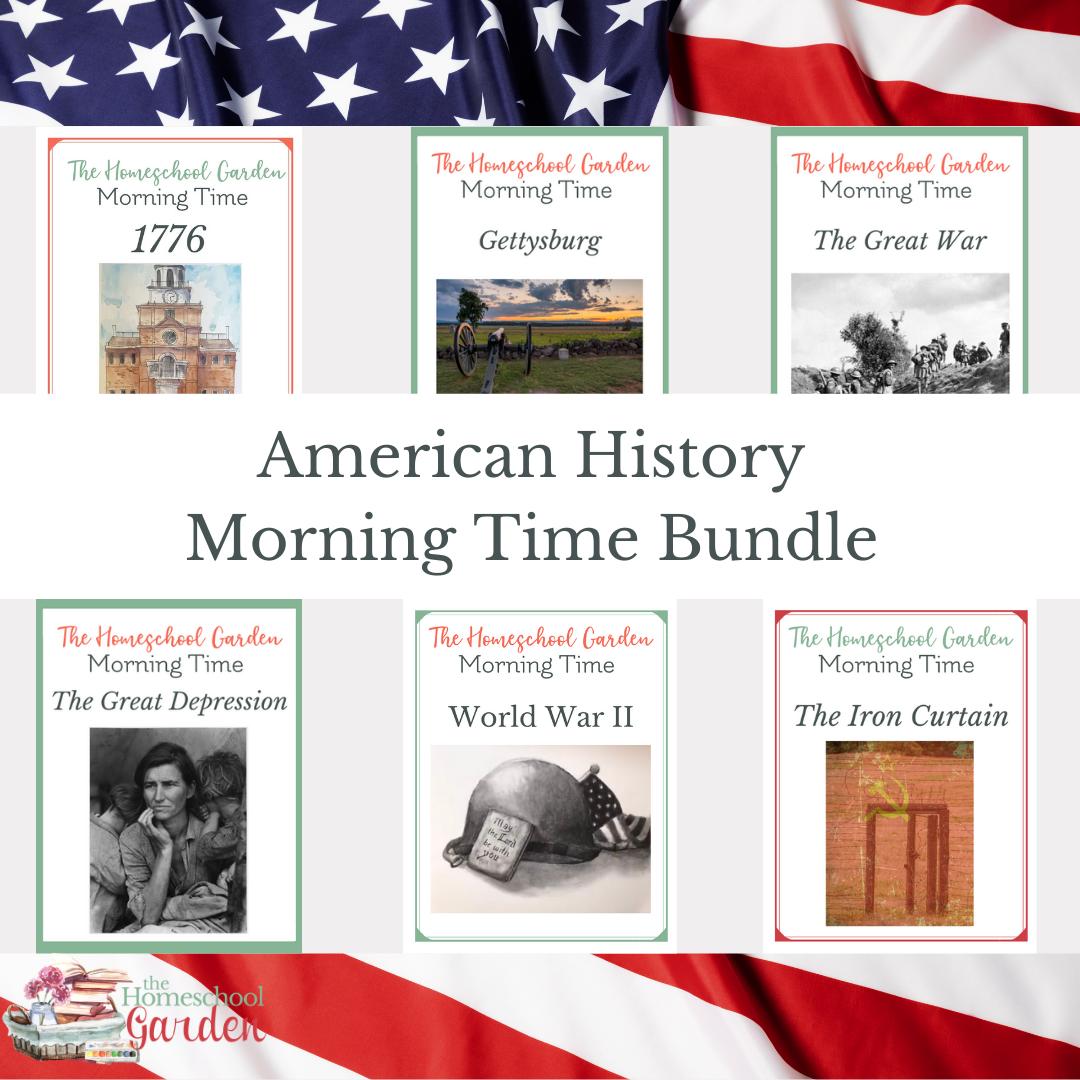 American History Morning Time bundle